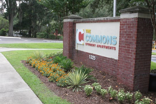 The Commons student apartment complex on Tharpe Street has been the scene of a number of shootings in the past few years.