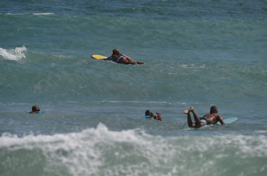 The Gnarly Charley Winter Surf Series Contest is Saturday at Pepper Park Beach in Fort Pierce.