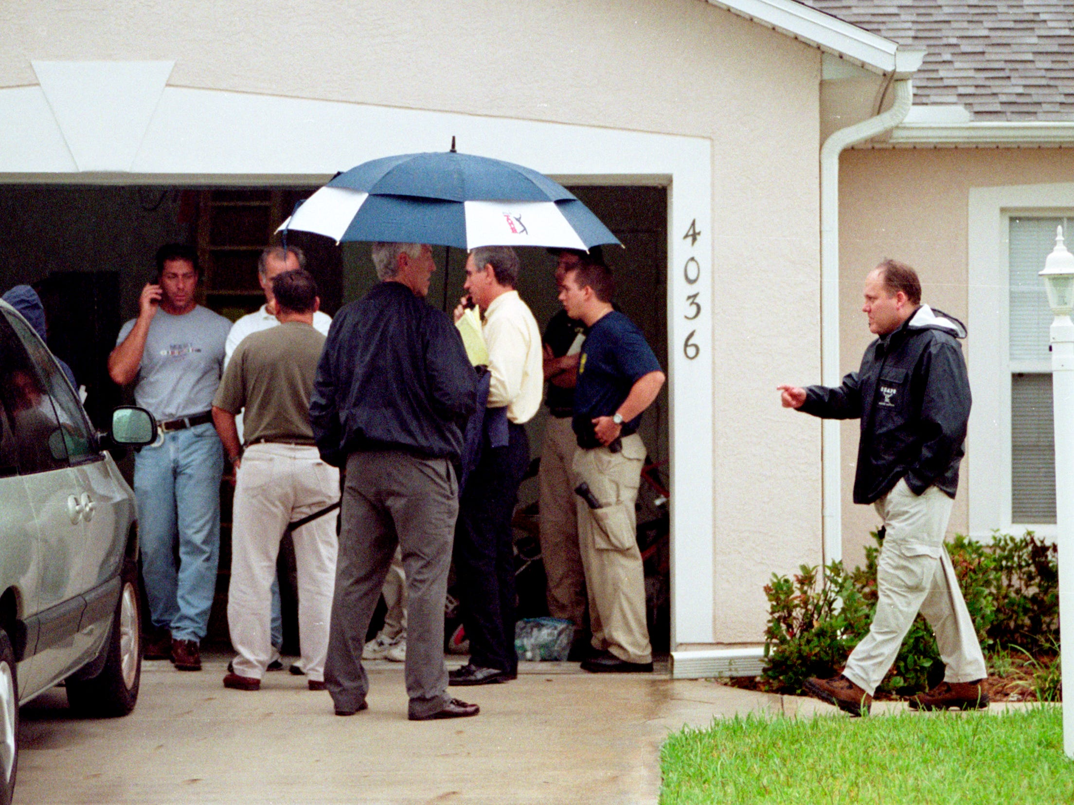September 12, 2001 - The day after the Sept. 11 terror attacks, federal authorities questioned a Vero Beach man after dozens of FBI agents descended on local neighborhoods, searching homes and towing away vehicles.