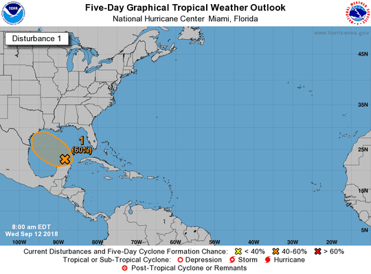 Tropical wave 8 a.m. Sept. 12, 2018