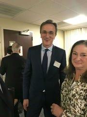 Cleveland Clinic President & CEO Dr. Tomaslav Mihaljevic, visits Indian River Medical Center in December.