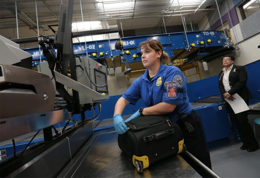 5 Airport Baggage Security System