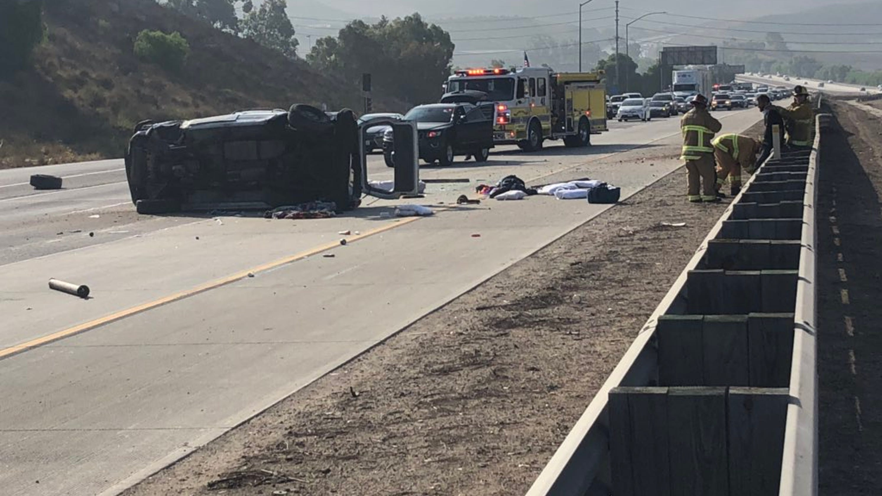 Lanes cleared after crash on Highway 23 in Moorpark slows