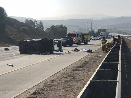 Moorpark Crash
