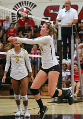 Nevada Knowles had 14 assists and five aces in Ventura's sweep of Pacifica.