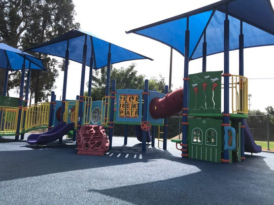 The Pleasant Valley School of Engineering and Arts Early Education Center got a new playground this year aimed at engaging students of all abilities.
