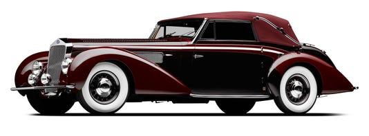 1939 Delage D8 120 Front 3q Mf