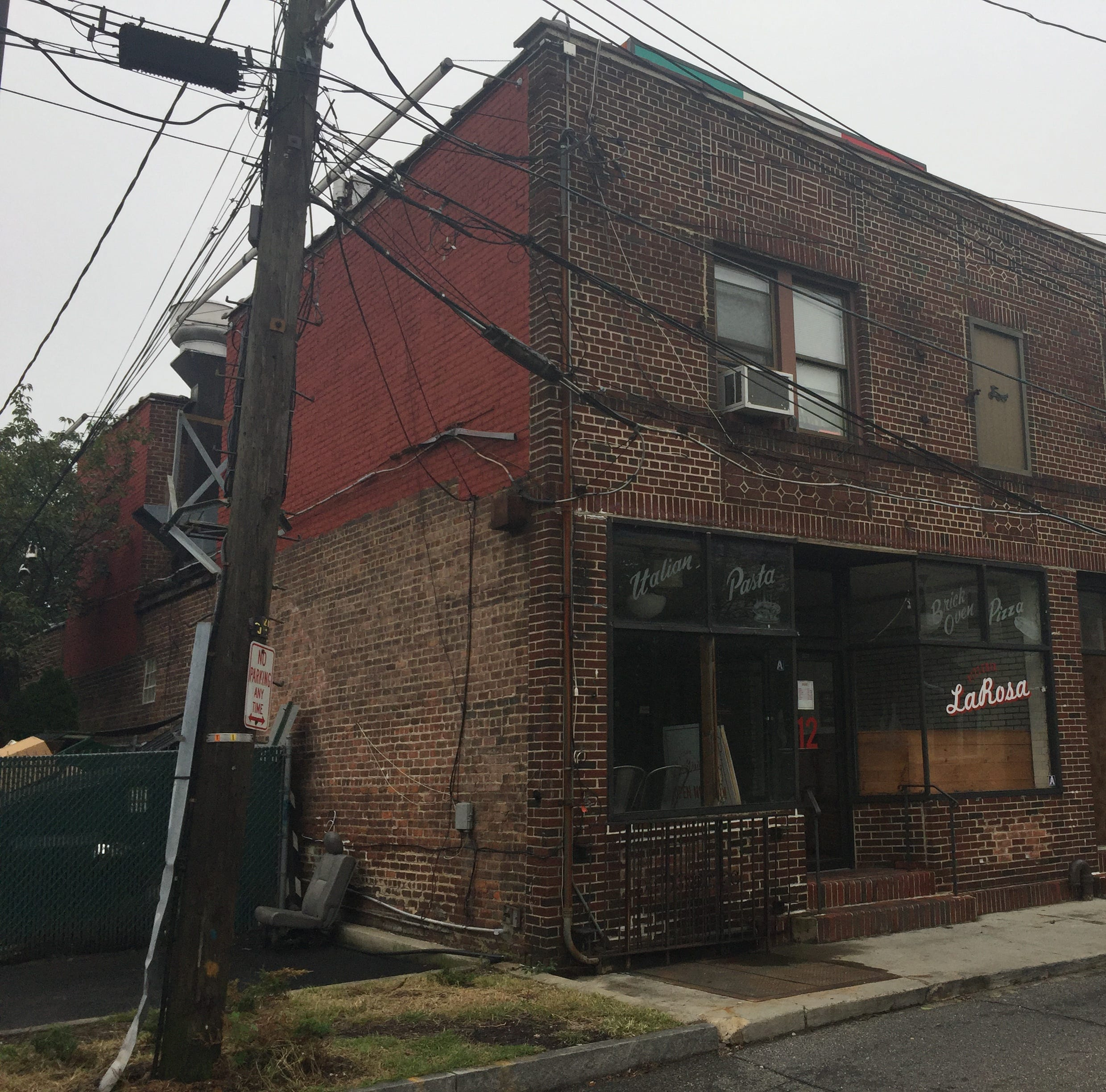 The property at 12 Russell Ave. was sold in late August. It's part of a single contract that included 13 Allard Ave. and sold for $1.45 million | Nicholas Tantillo | Sept. 12, 2018