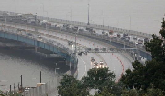 Gov Mario M Cuomo Bridge opens