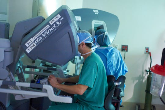 MSK surgeons perform more robot-assisted minimally invasive surgeries for people with colorectal cancer than any other institution in the country.