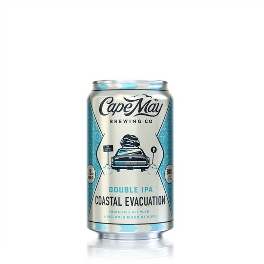 Cape May Brewing Co. has a beer made for weekends like this: Coastal Evacuation. It's a 8% ABV Imperial IPA.