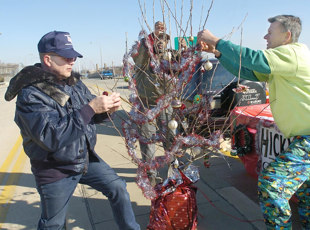 Attend Claymont's annual Christmas weed decorating celebration and parade. www.claymontchristmasparade.com/