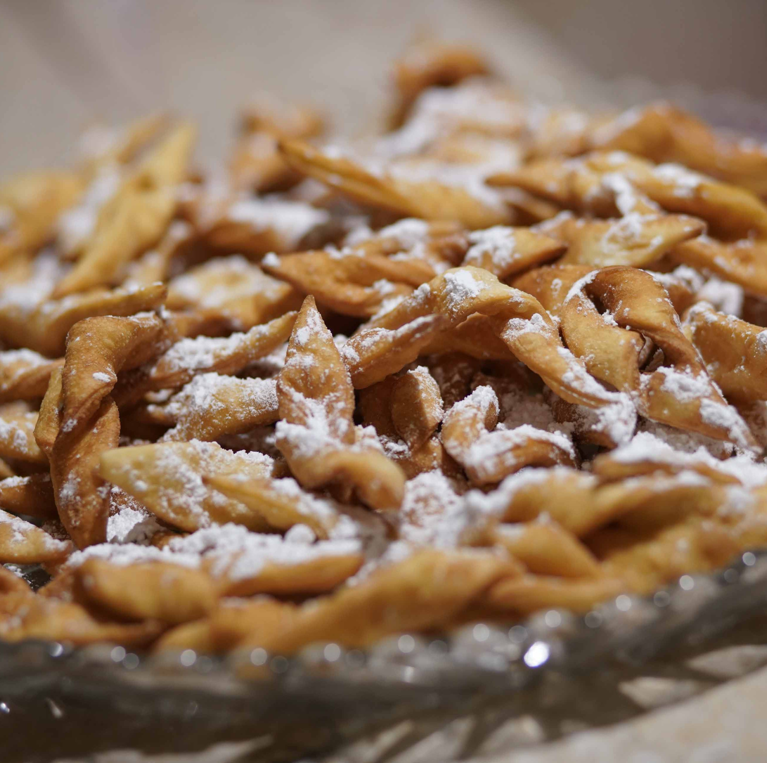 Fried cookies called chrusciki are St. Hedwig's tradition at Polish Festival