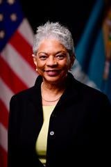 "Department of Human Resources Secretary Saundra ""Sandy"" Ross Johnson"