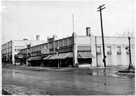 The River Block held several retail stores like Germann's Jewelry.