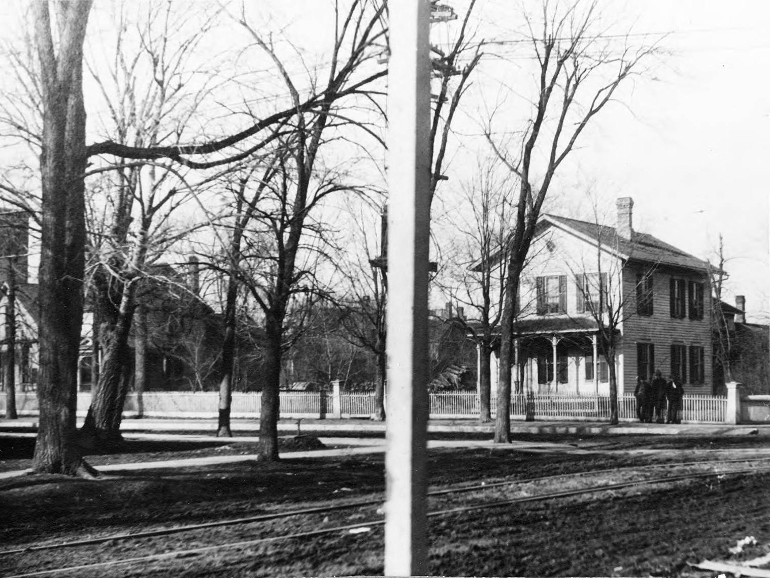 The former home of Henry Jackson. Jackson named the community Centralia in 1894 and was the first postmaster and was involved in politics. This house was moved to the 200 block of Third Avenue South to make room for the Johnson & Hill Department Store in 1912.