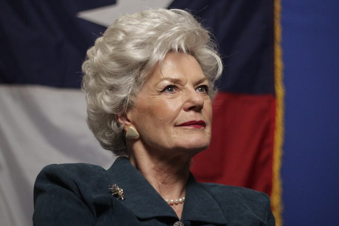 Libby Villari, whose husband has ties to North Texas, will portray the late Gov. Ann Richards in a political benefit performance on Sept. 14 at the Kemp Center for the Arts.