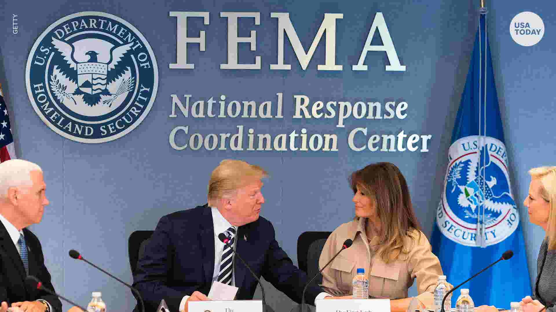 Documents suggest Trump administration moved $10 million from FEMA to ICE
