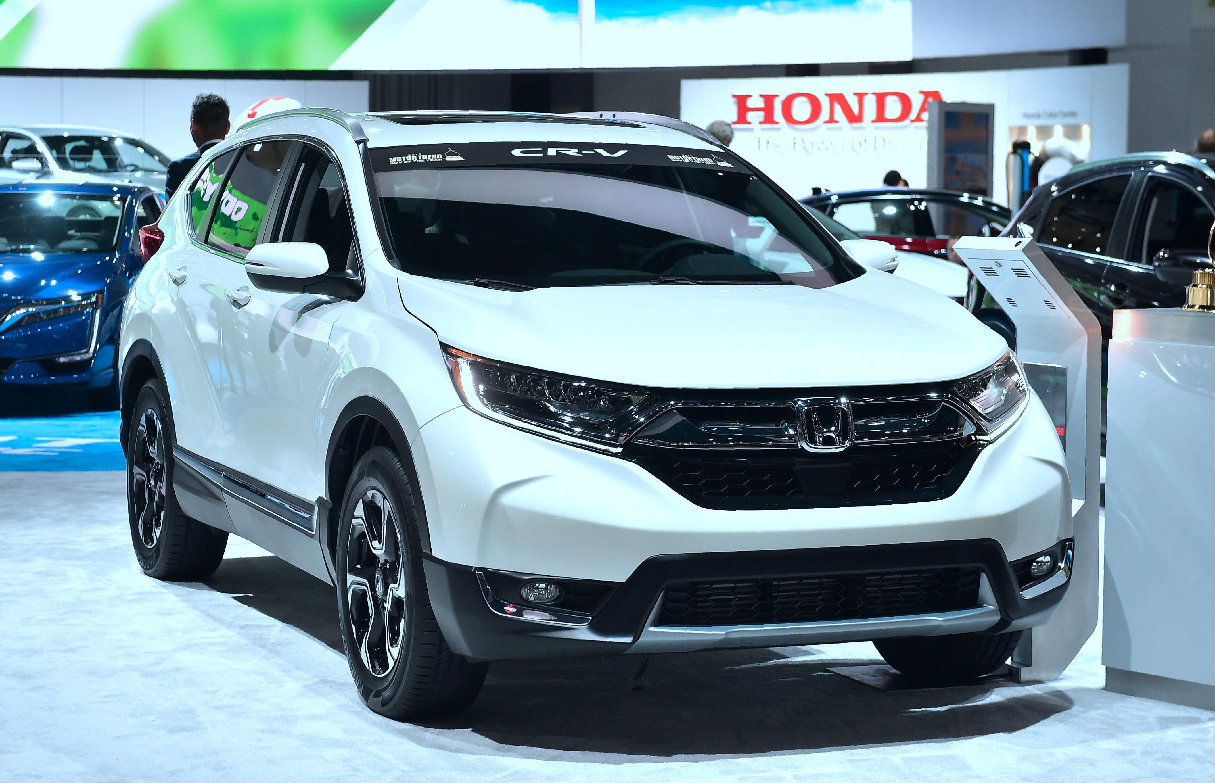 2018 Honda CR-V.