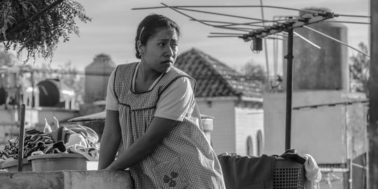 "Alfonso Cuaron based ""Roma"" on his memories of growing up in Mexico City under the care of his family maid, Cleo, played by Yalitza Aparicio."