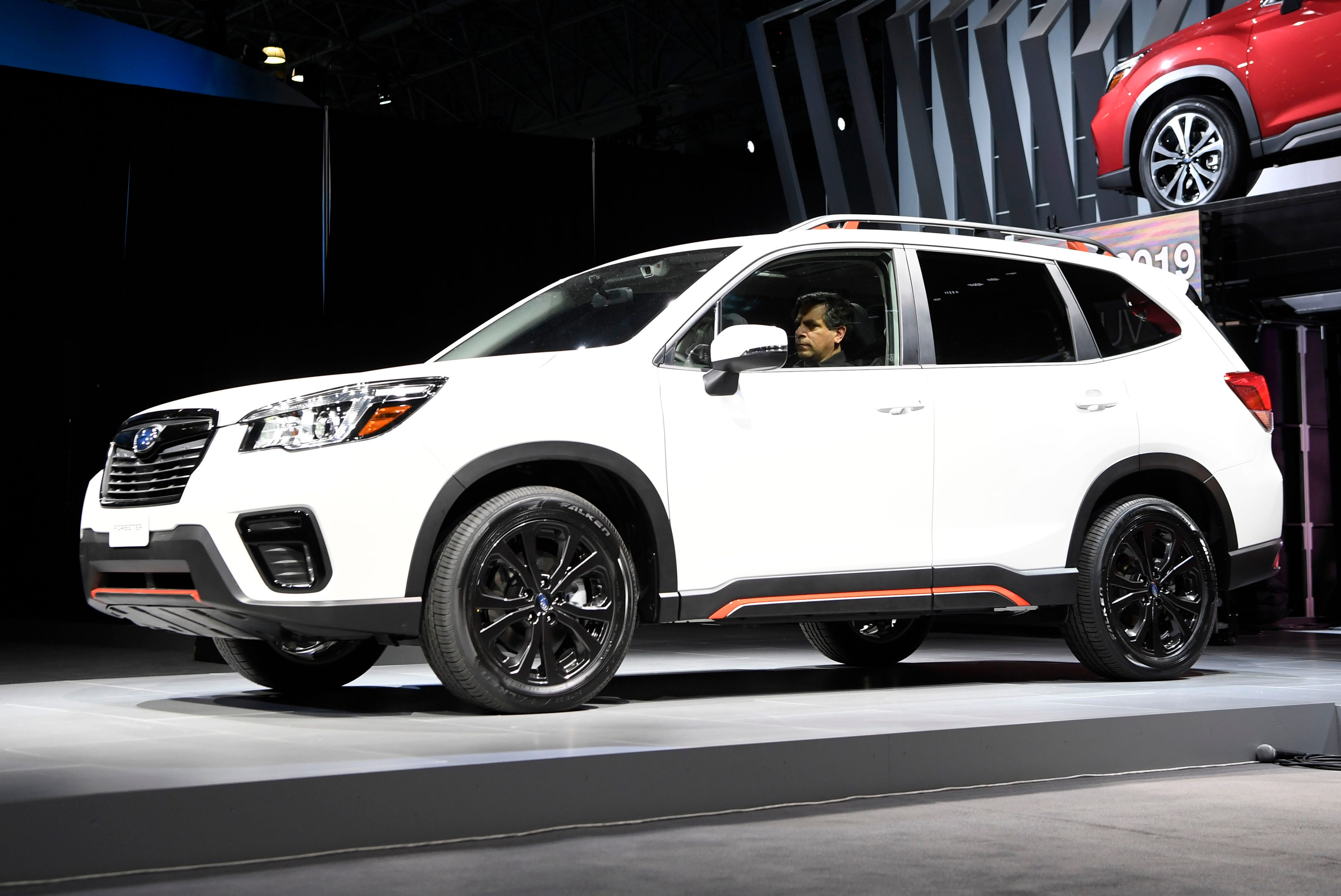 The 2019 Subaru Forester.