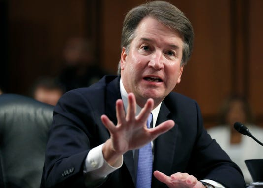 Brett kavanaugh peppered with questions
