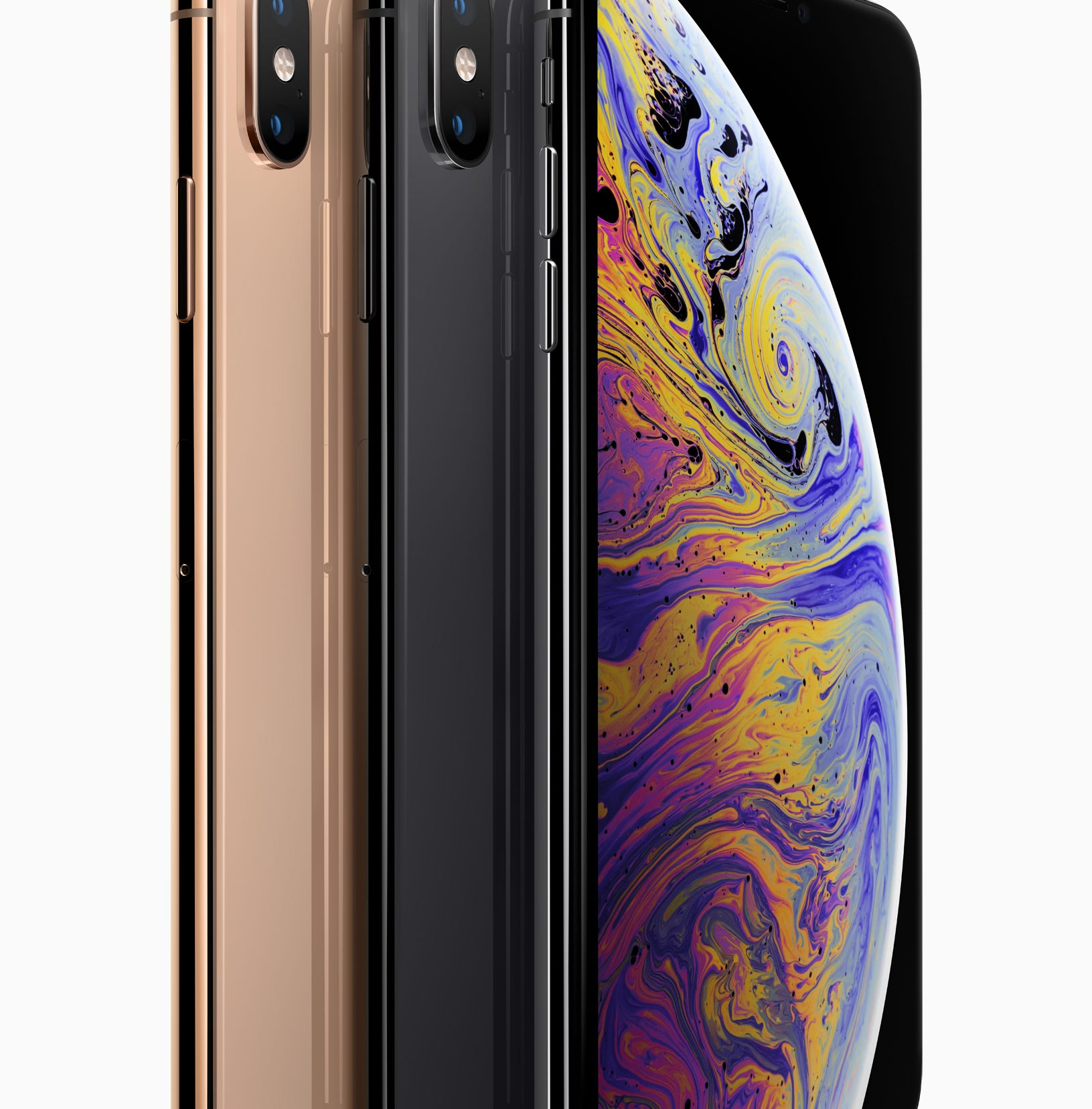 The iPhone XS lineup