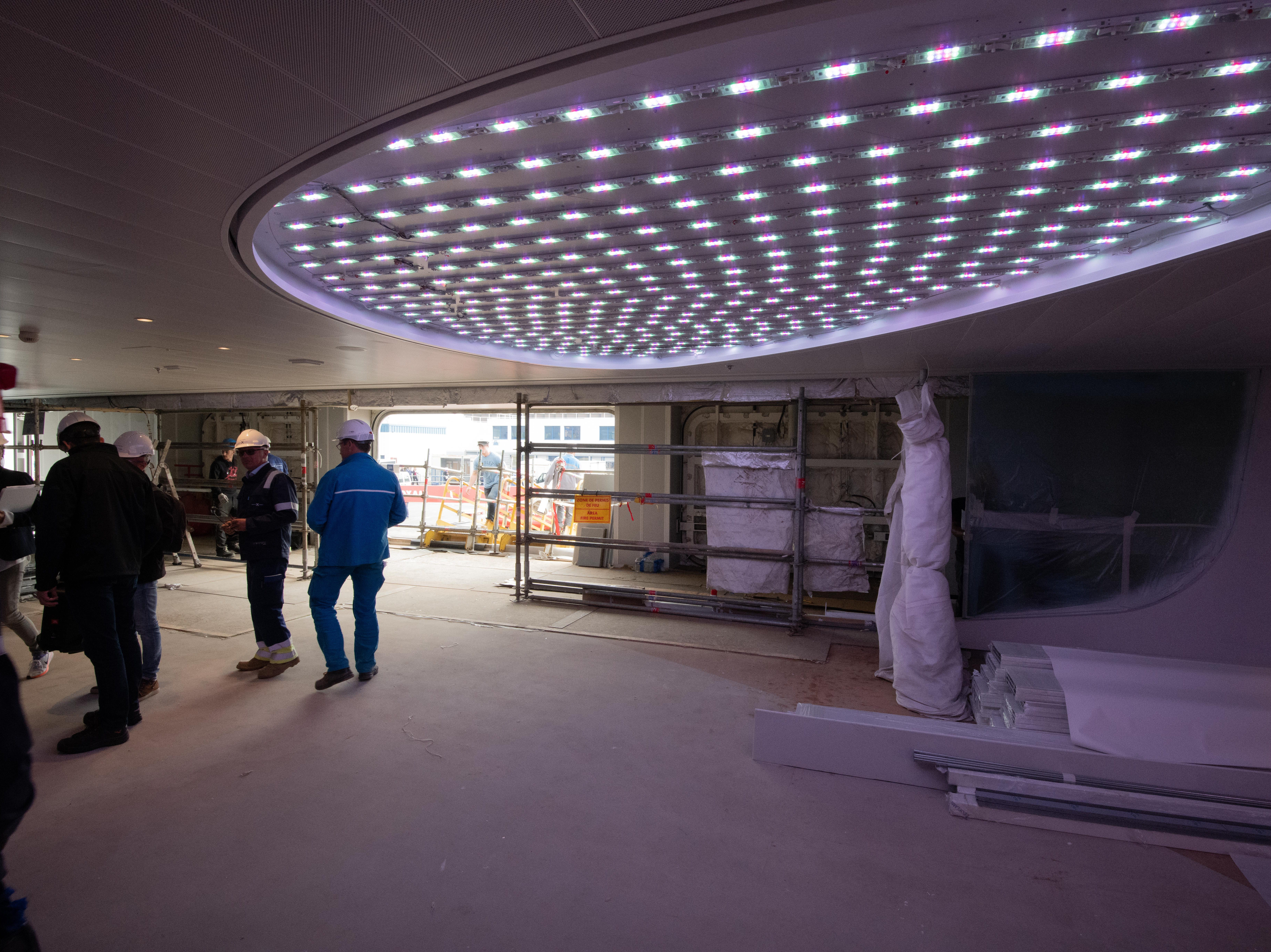 Among innovative features of Celebrity Edge is a spacious entryway called Destination Gateway.