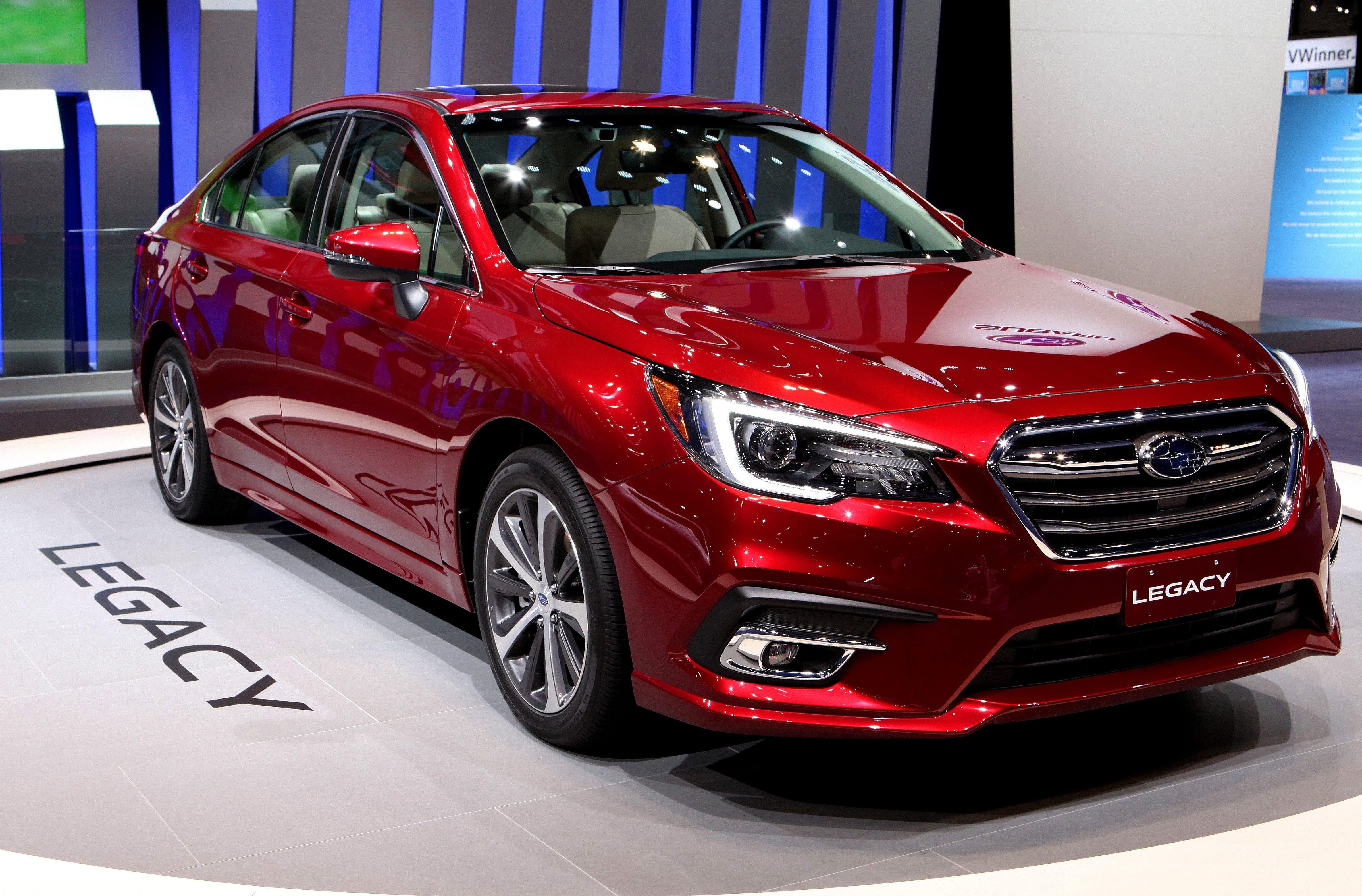 2018 Subaru Legacy.