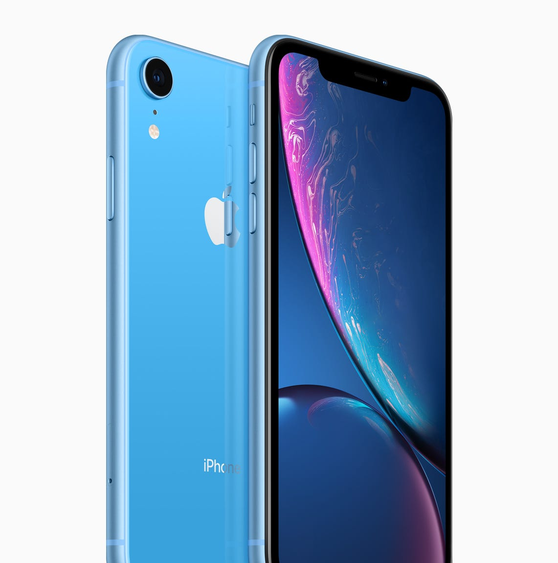 Apple's iPhone XR in blue