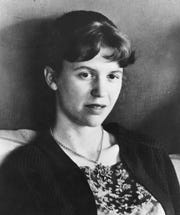 An undated photo of poet Sylvia Plath.