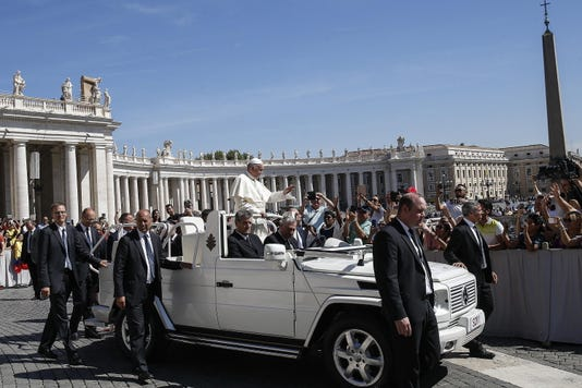 Epa Italy Pope Francis General Audience Rel Belief Faith Ita