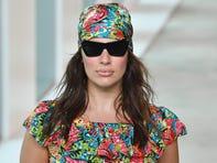 Ashley Graham finally walks a 2018 Fashion Week runway, in a Michael Kors headscarf