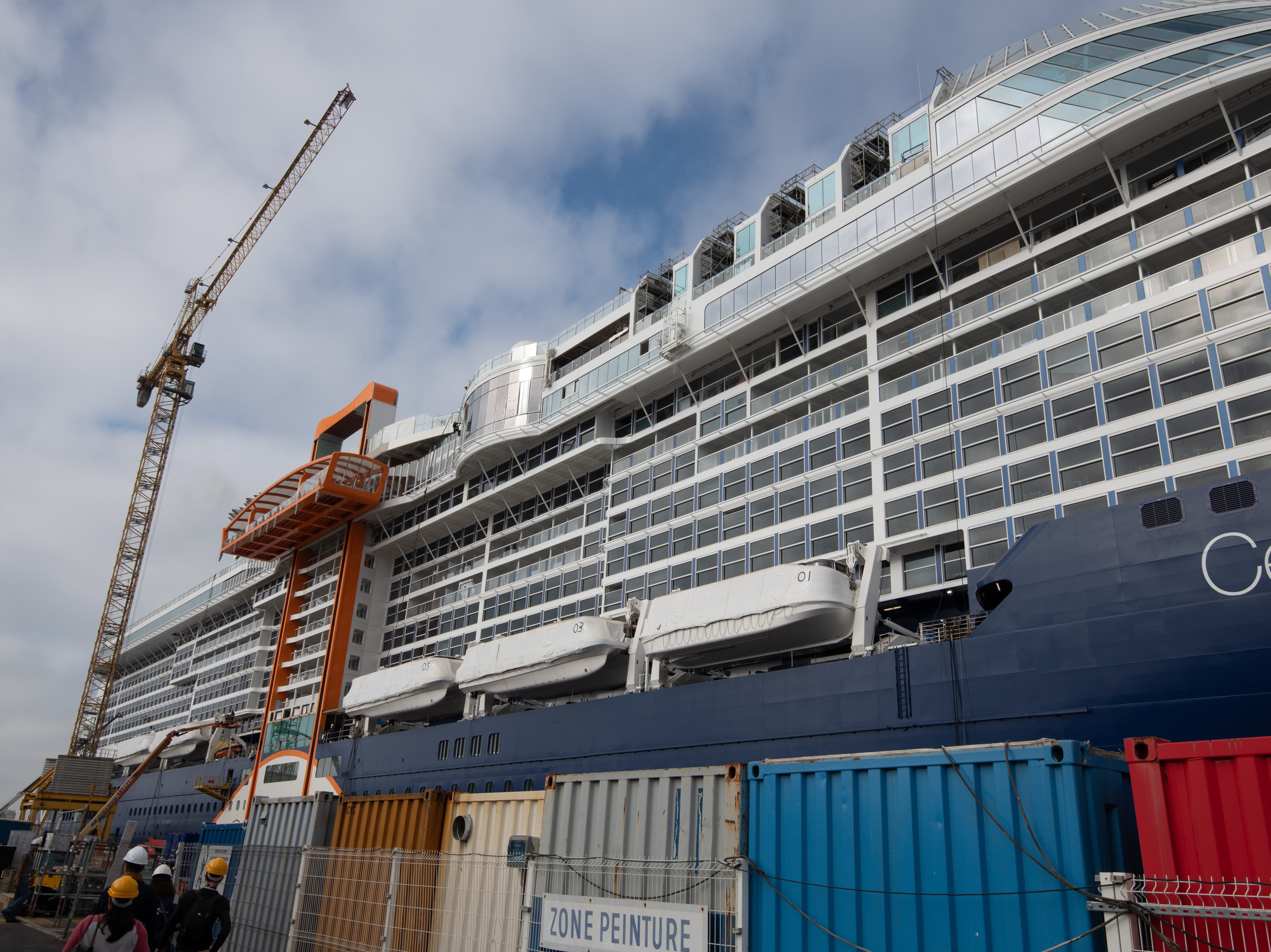 Celebrity Cruises has ordered four vessels in the new series, which is being called the Edge Class.