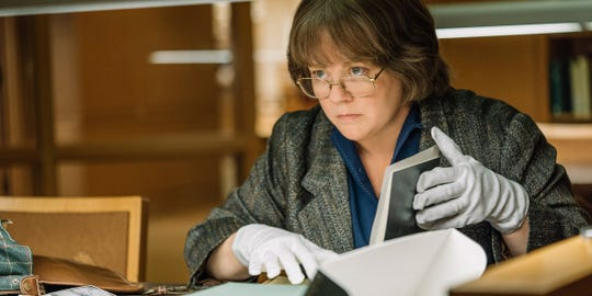 "Melissa McCarthy is a salty writer in ""Can You Ever Forgive Me?"""
