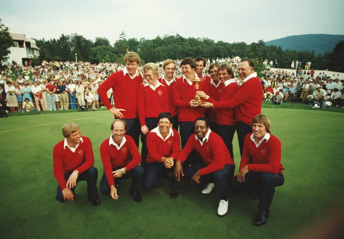 Ryder Cup Winners Through The Years