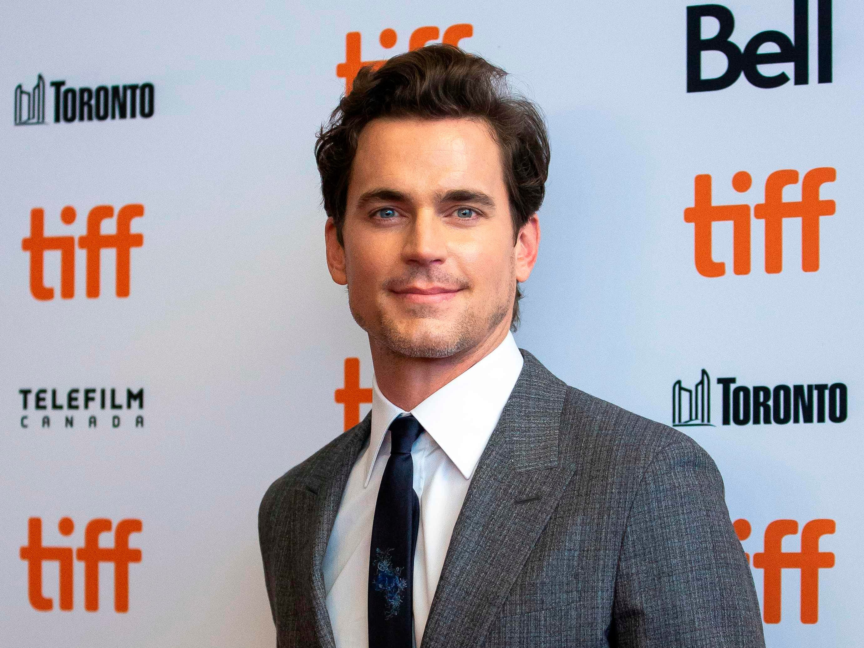Actor Matt Bomer attends the premiere of 'Viper Man' at the Toronto International Film Festival in Toronto, Ontario, September 11, 2018. (Photo by Geoff Robins / AFP)GEOFF ROBINS/AFP/Getty Images ORG XMIT: Toronto I ORIG FILE ID: AFP_1911M3