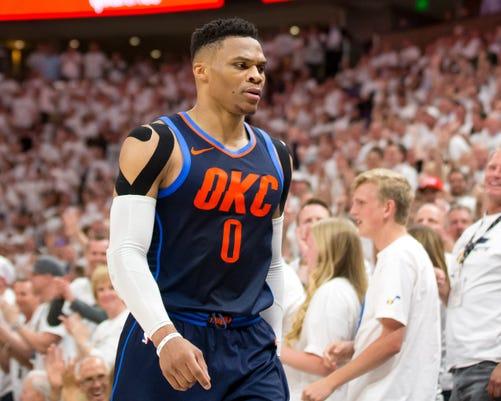 Usp Nba Playoffs Oklahoma City Thunder At Utah Ja S Bkn Uta Okc Usa Ut