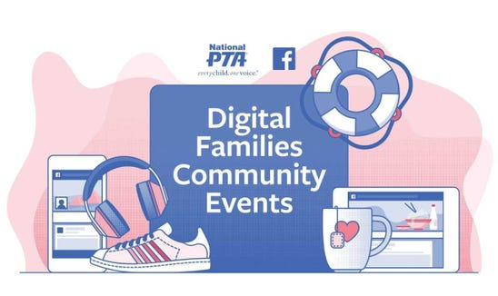 The first of Facebook's Digital Families Community Events is expected in early October.