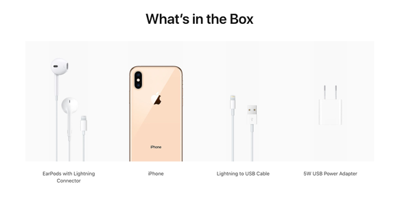 official photos f9367 f7a3c iPhone XS has no Lightning adapter for headphones, Apple charging $9
