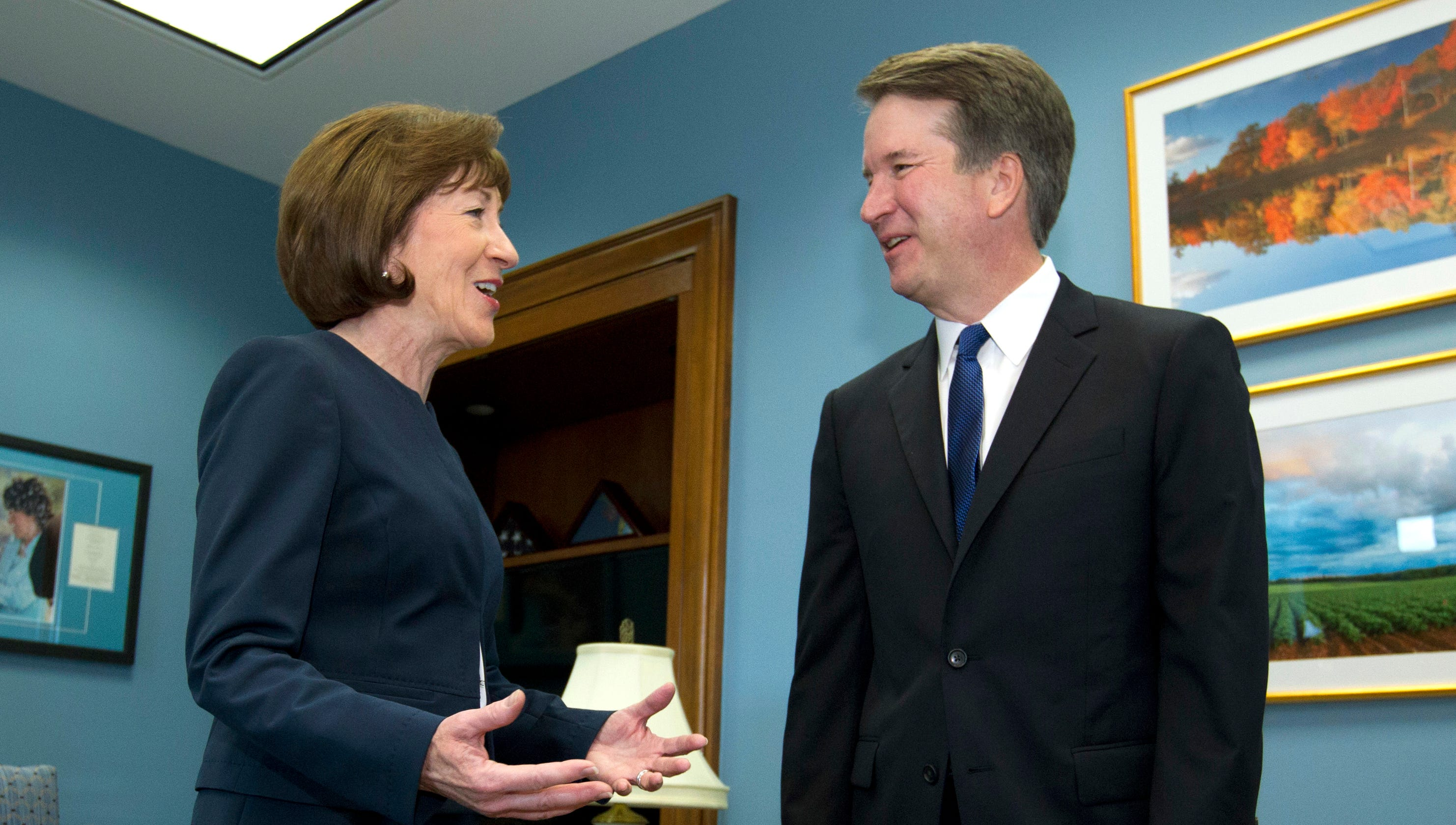 Kavanaugh vote: DOJ asked to investigate \'bribery\' for Collins\' vote