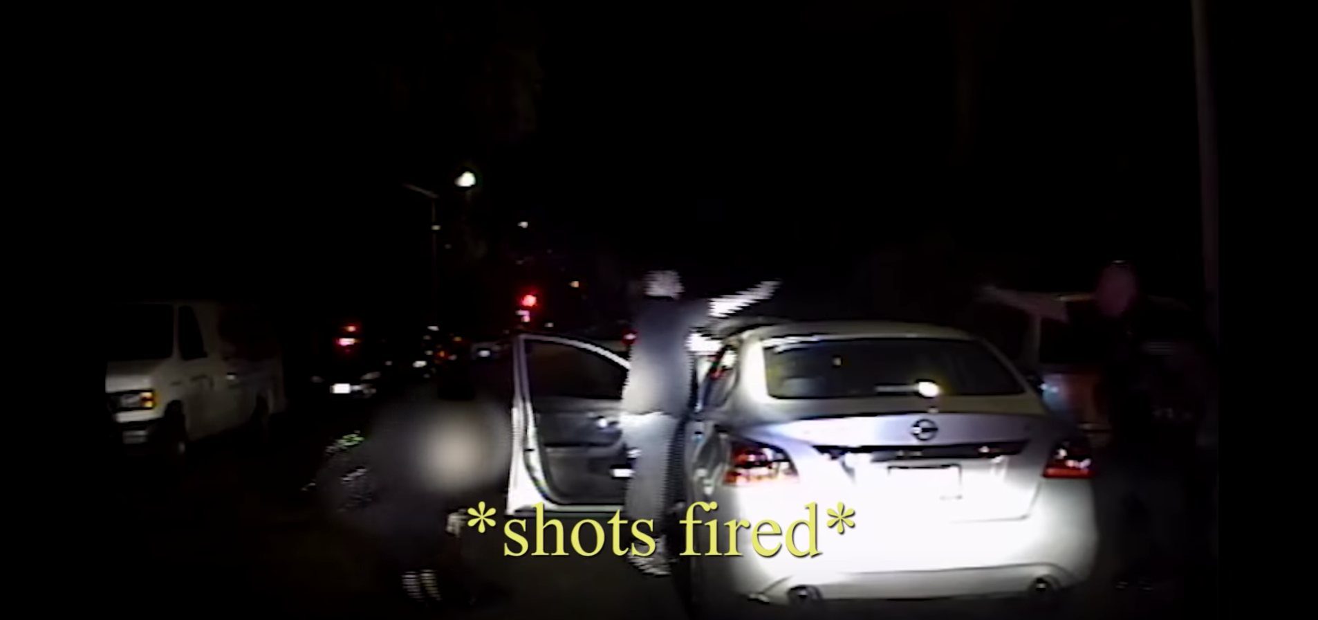 Dash cam footage shows officer being shot at point-blank range