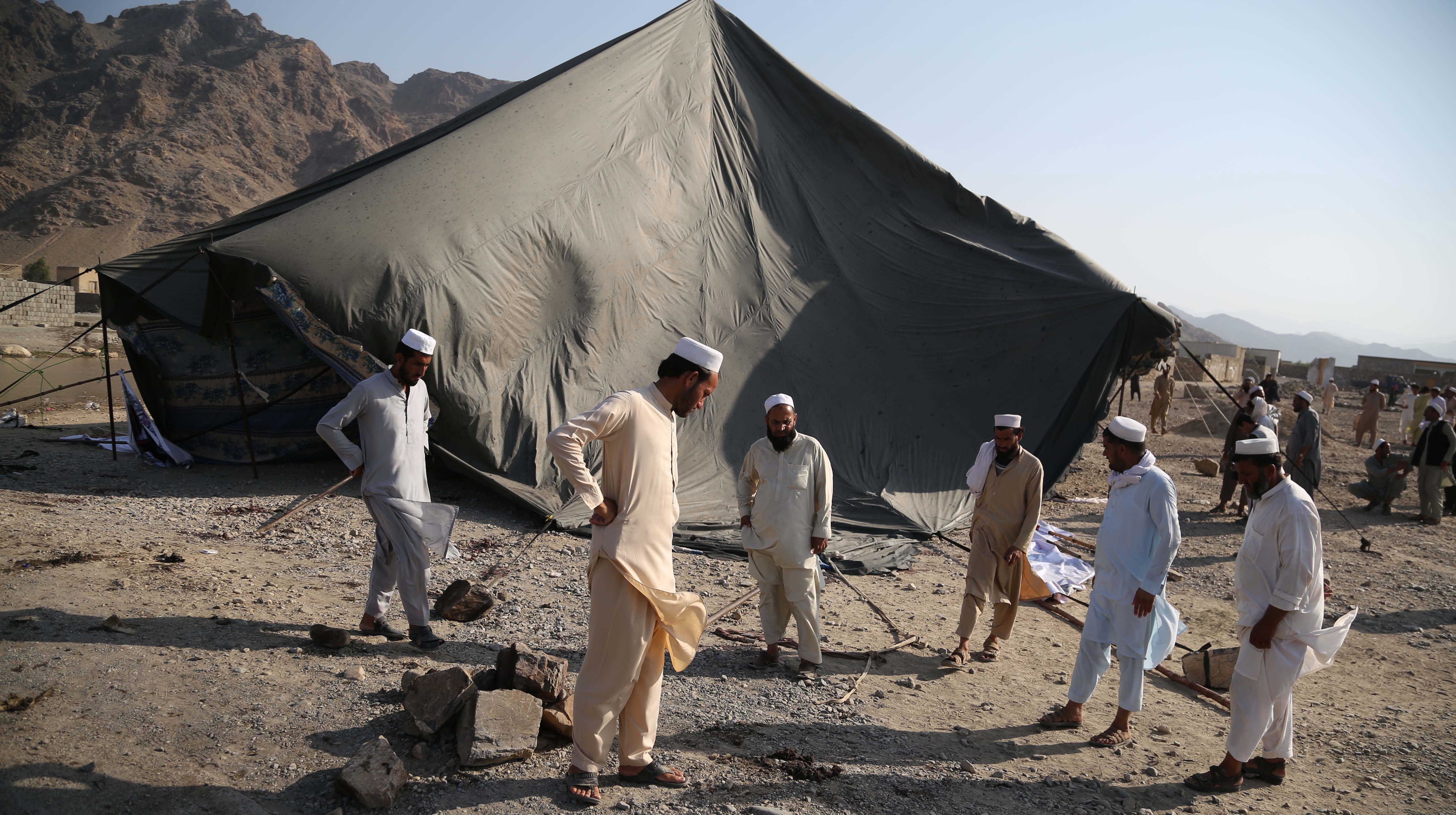 Tuesday's attack was marked by one of the highest death tolls in attacks in Afghanistan this year.