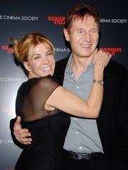 Natasha Richardson and husband Liam Neeson in 2007.