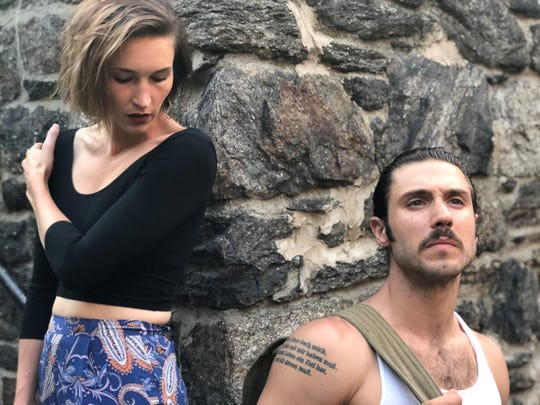 """Augusta Caso (left) and Victor Starsky star in """"Carmen"""" at Axelrod Performing Arts Center."""
