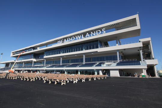 The New Meadowlands Racetrack in East Rutherford.