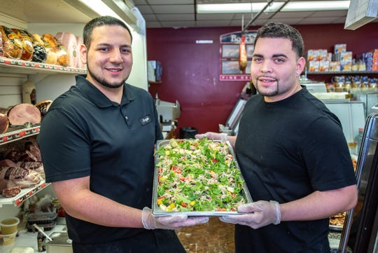 Angelo's Italian Market, Little Silver, is owned by Angelo Locicero (left)  and John Marcano.