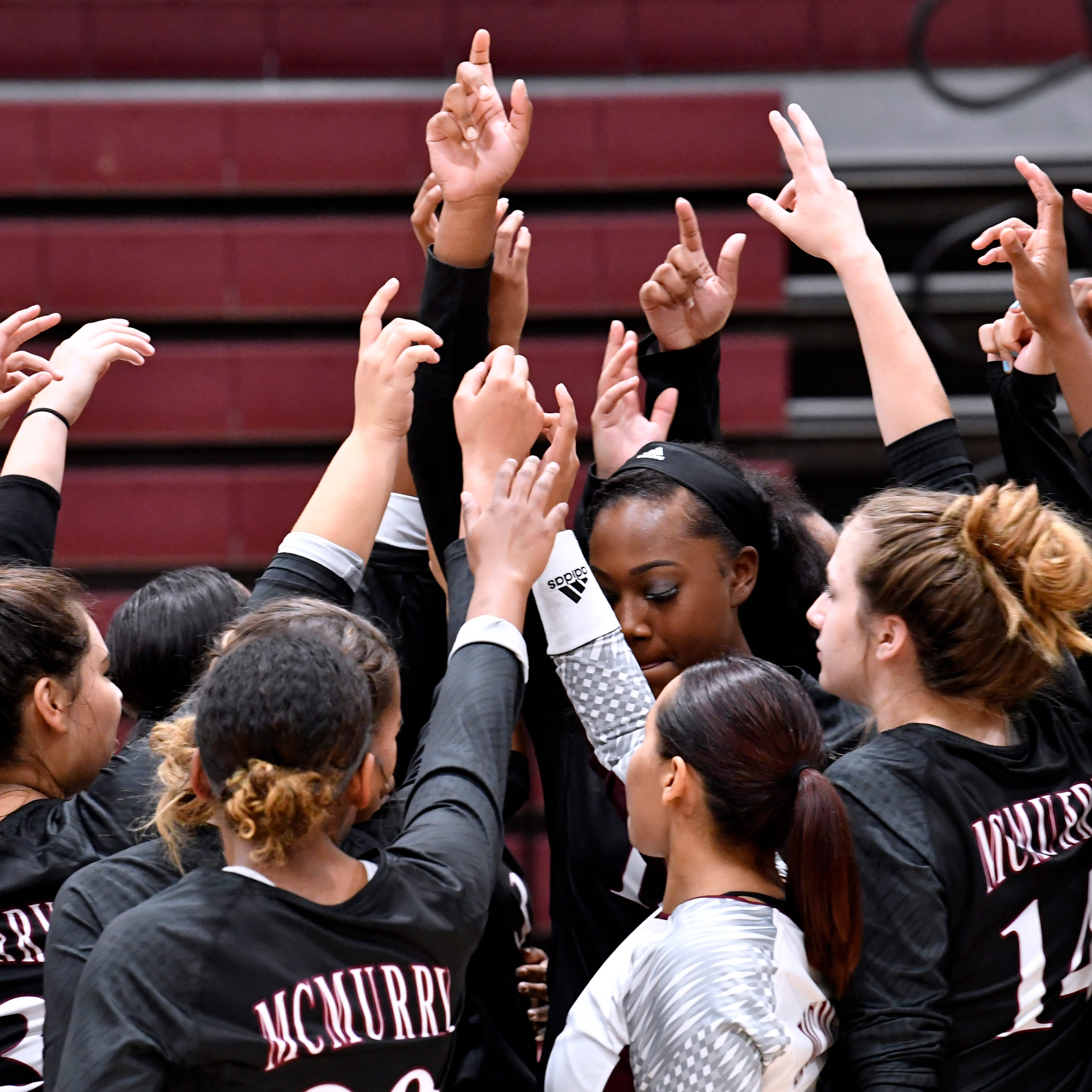 McMurry volleyball team breaking racial barriers