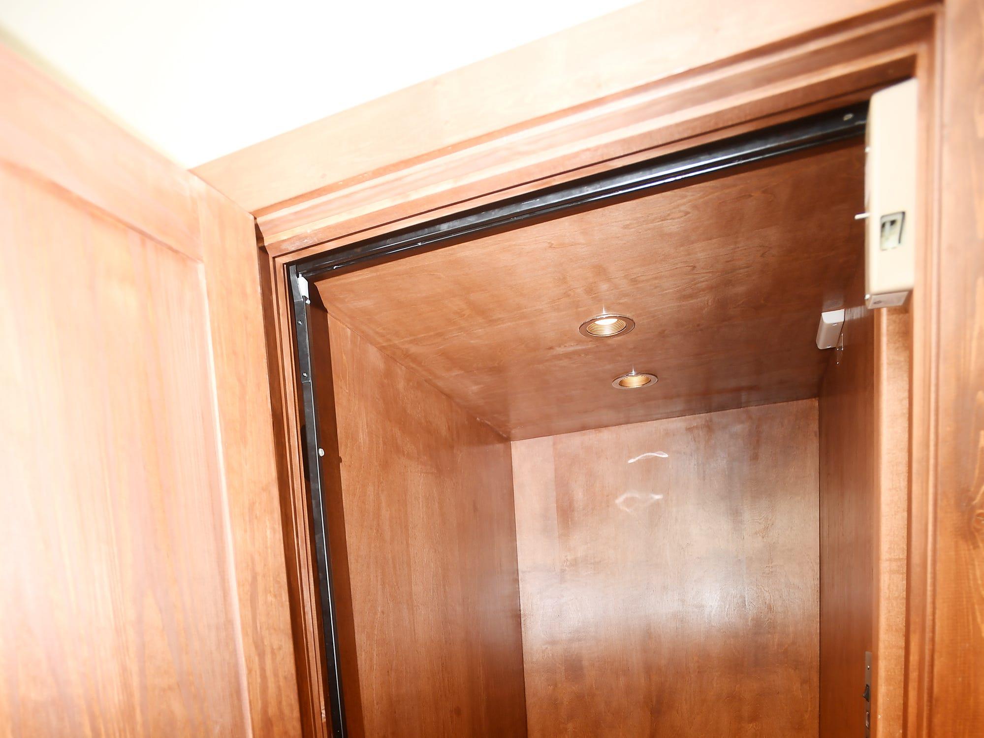 Jim and Sabrina Watson's elevator.