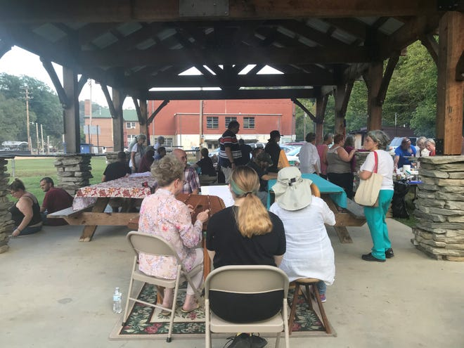 Residents of the Mintz Care Homes enjoyed a surprise picnic September 7 organized by volunteers with the Community Advisory Committee.